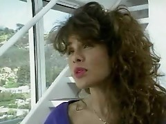 Porn great Teri Weigel sucking on dick