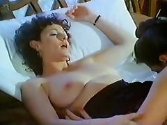 Tremendous retro pussy eating porn