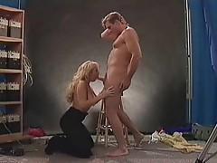 Slutty chick Sandra Scream riding dick
