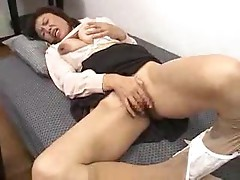 Japanese mother and son get it on