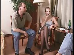 Sexy nylon fetish video for your pleasure