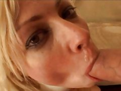 Adrianna Nicole sipping the cock to get the cum load
