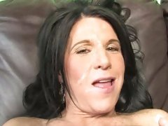 Kendra Secrets let guys cum explode on her face