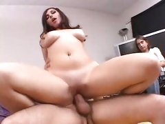 Franchezca Valentina gets her little tight twat wrapped around a fatty cock