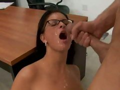 Class commences for classy teacher Marilyn Scott with a lesson of hot cum