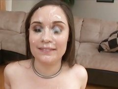 Charlotte Vale max out with a warm cum of hot cocks