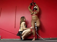 This whore just loves to be punished!