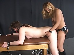 Domininatrix fuck action for this hot slutty babe