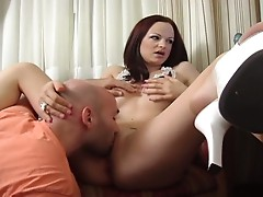 Sexy beauty babe fucked hard by a big dick !