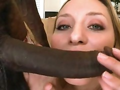 Sex bombsthat guyll Aiden Starr stuffs her Mouth with a thowdyck shaft and enpLeasures it