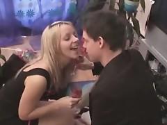 Cum thristy girlfriend fucks for a hot