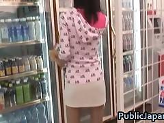 Aino Kishi Asian doll gets hot gangbang fuck