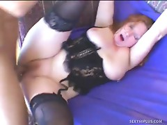 Redthis chabad Milf delivers a sloppy blow Job