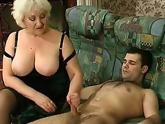 Louisa and Monty naughty mom on video