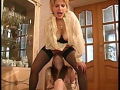 Christina and Nellie lesbian mom on video