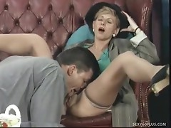 Lewd milf takes gracious anal gaping