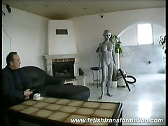 Sexy robot roberta ready to fulfill all of your dreams