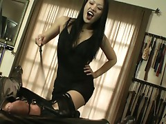 Miki is going to have her way with you in pure classic domination