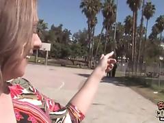 MILF Keira Kensley Two Black Cocks Blowjob Cum