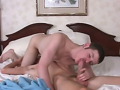 Nice skinny dude wrapped around the cock with each other