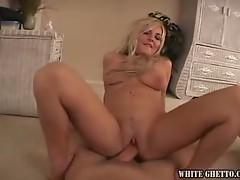 Busty blonde darryl hannah rides his hard cock