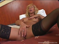 Horny victoria gets a mouthful of cock