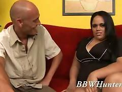 Bbw loves pumping some big hard cock