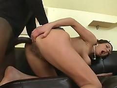Mommy hanah loves big black dicks in her ass