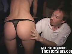Super skinny blonde theater slut carla nasty gang fucking fun