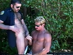Gay sex outdoor