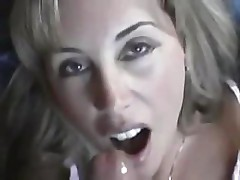 Compilation of housewives enjoying sucking on the hard cock
