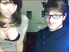 Amateur couple on cam