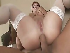 Katja Kassin sucks and fucks a dick to get it into her hot ass