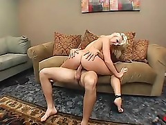 Busty Lacey Maguire has a nice ass she uses for some fuck fun