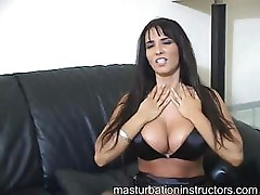 Latina jerk off teacher is hot as she teases men with tiny cocks