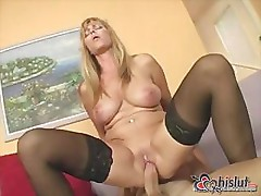 French vixen Nicole Moore and her nice boobs fuck very well