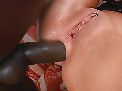 Sabrina taking part in interracial fuck