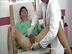 Nice medical guy jerkoff dick
