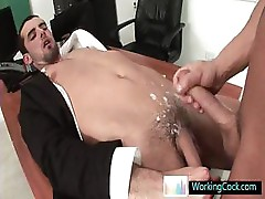 Jake getting his cute ass fucked hard by workingcock