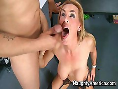 Tanya Tate gives her student a lesson in sucking and fucking