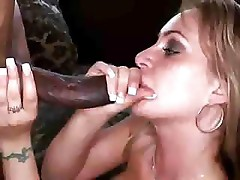 Maria Belucci likes a hard black cock to suck and fuck her