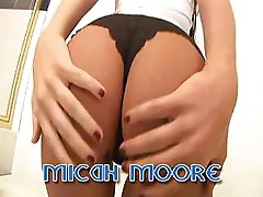 Micah Moore Gets Her Hot Tight Pussy Fucked And Fingered