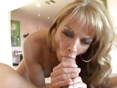 Saucy Shayla Laveaux takes a hard dick down her throat