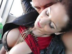 Busty beauty Alison Star gets seduced by this dick