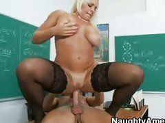 Hot Alexis Golden loves to please hard cock by wrapping them in her cunt.