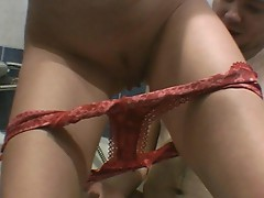 Pissing on the floor porn