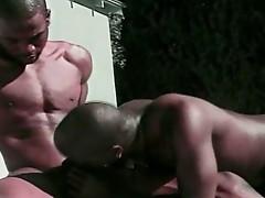 Ebony Gay Anal Fucking With Nasty Cumshot