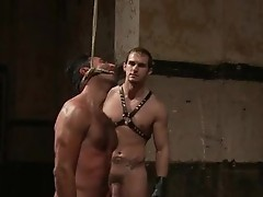 Penix and Gianni hunky studs extreme bdsm
