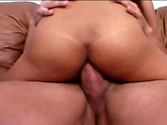 Sexy anal threesome massive cock
