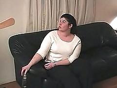 Idle housewife wazoo spanked